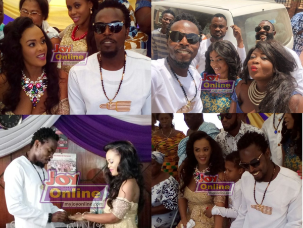 Kwaw Kesse wedding